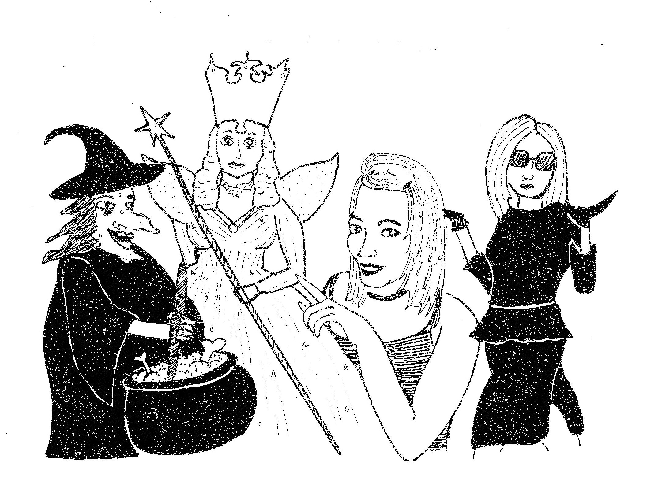 the evolution of witches in popular culture kitsch