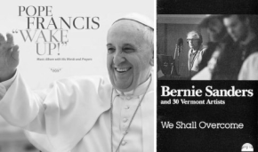 Bernie Sanders & Pope Francis: Apparently both these people have albums… here's what we learned from listening to each