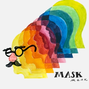 Mask Up: Wearing a mask for confrontation